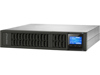 "UPS POWERWALKER ON-LINE 1000VA 3X IEC OUT, USB/RS-232, LCD, RACK 19""/TOWER"