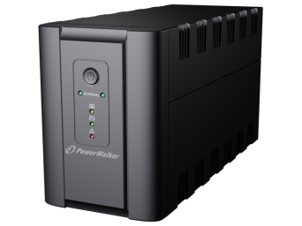 UPS POWER WALKER LINE-INTERACTIVE 1200VA 2X SCHUKO + 2X IEC OUT, RJ11/RJ45 IN/OUT, USB