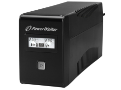 UPS POWER WALKER LINE-INTERACTIVE 850VA 2X SCHUKO OUT, RJ11 IN/OUT, USB, LCD