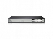 "SWITCH RACK 19"" 16-PORT 1GB, ST3116G NETIS"