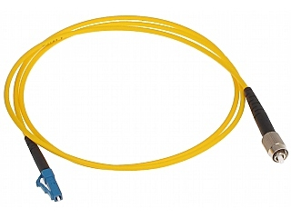 PATCHCORD JEDNOMODOWY PC-FC/LC 1 m - Outlet !
