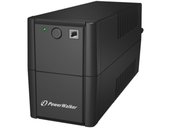 UPS POWERWALKER LINE-INTERACTIVE 650VA 4X 230V IEC OUT, RJ11 IN/OUT, USB