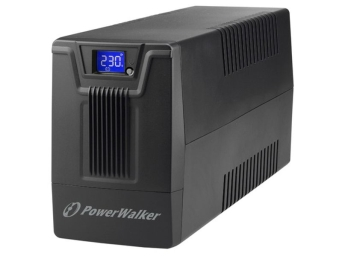 UPS POWERWALKER LINE-INTERACTIVE 600VA SCL 2XSCHUKO 230V, RJ11/45 IN/OUT, USB, LCD