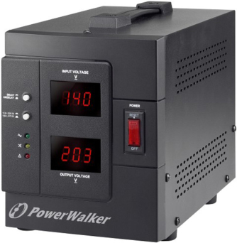 STABILIZATOR NAPIĘCIA AVR POWERWALKER 230V, 3000VA 1X PL OUT, TERMINAL IN/OUT