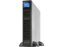 "UPS RACK 19"" POWERWALKER ON-LINE 1000VA CRS, 3X IEC OUT, USB/RS-232, LCD, TOWER, 6A CHARGER"