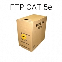 KABEL SKRĘTKA FTP CAT 5E CU - 305m